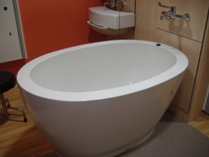 compact birth bath