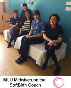 SoftBirth Birth Couches in obstetric units and midwifery led units
