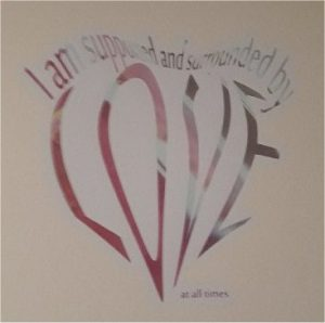 Oldham Birth Centre Wall Painting